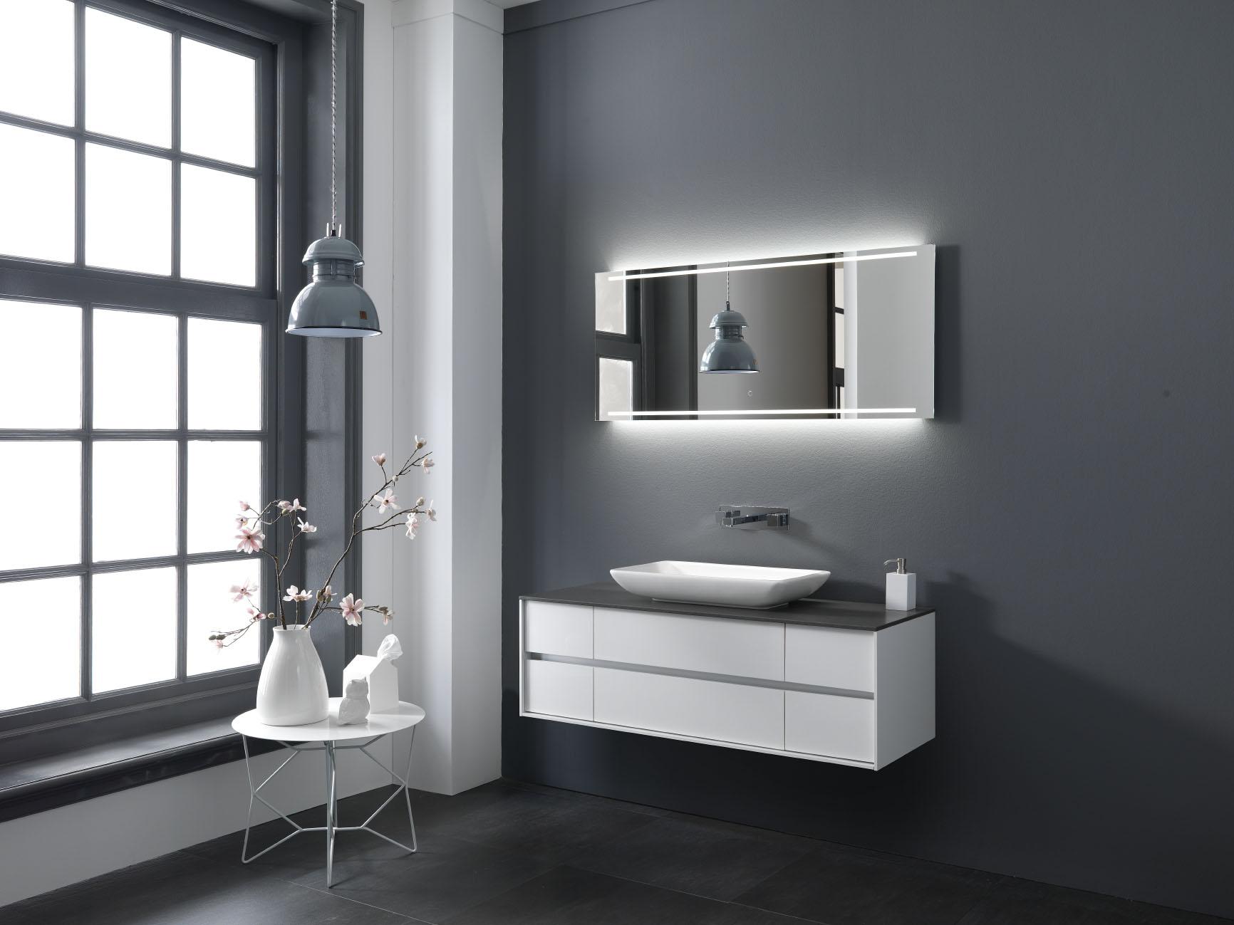 Strak en modern kremer keukens showroom opruiming - Mooie moderne badkamer ...