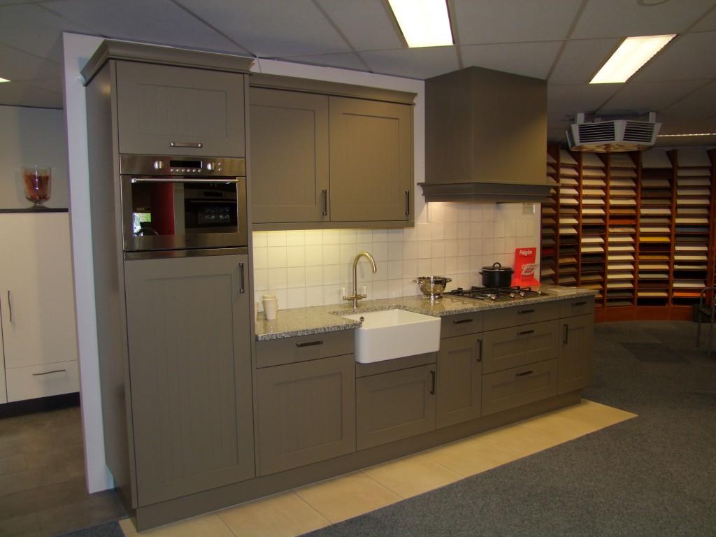 Keuken opruiming showroom